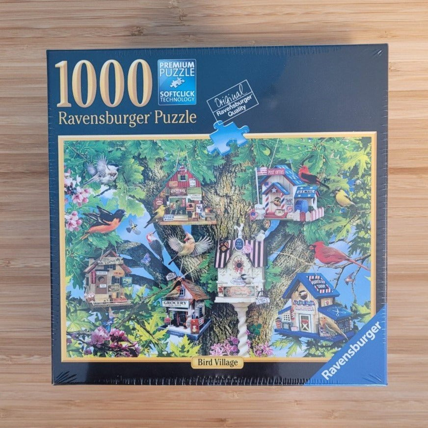 Bird Village - 1000 Piece Ravensburger Puzzle