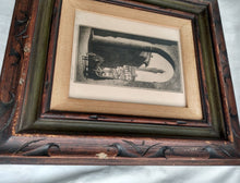 Load image into Gallery viewer, Vintage Framed John C. James etching- numbered and signed- Rare