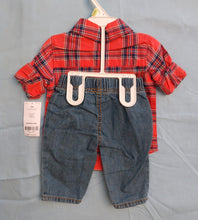 Load image into Gallery viewer, Carter's Baby 2 Piece Shirt & Pants Set - Size 3m- New