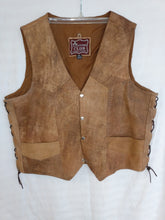 Load image into Gallery viewer, Leather Club Men's Vest- Used- Size 48