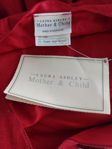 Laura Ashley Sleeveless Mother and Child Dress- Size 11-12 years- NEW