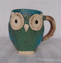 Load image into Gallery viewer, Pacifica Ceramic Owl Mug