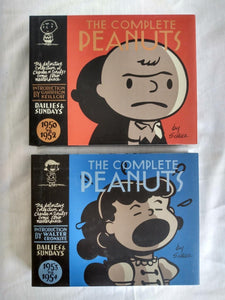 The Complete Peanuts 1950-1954 Comics- 2 Book Hardcover Set - Used