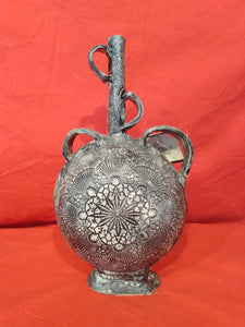 Handmade Pottery Vase by SUNILA- N.C. Local Artist