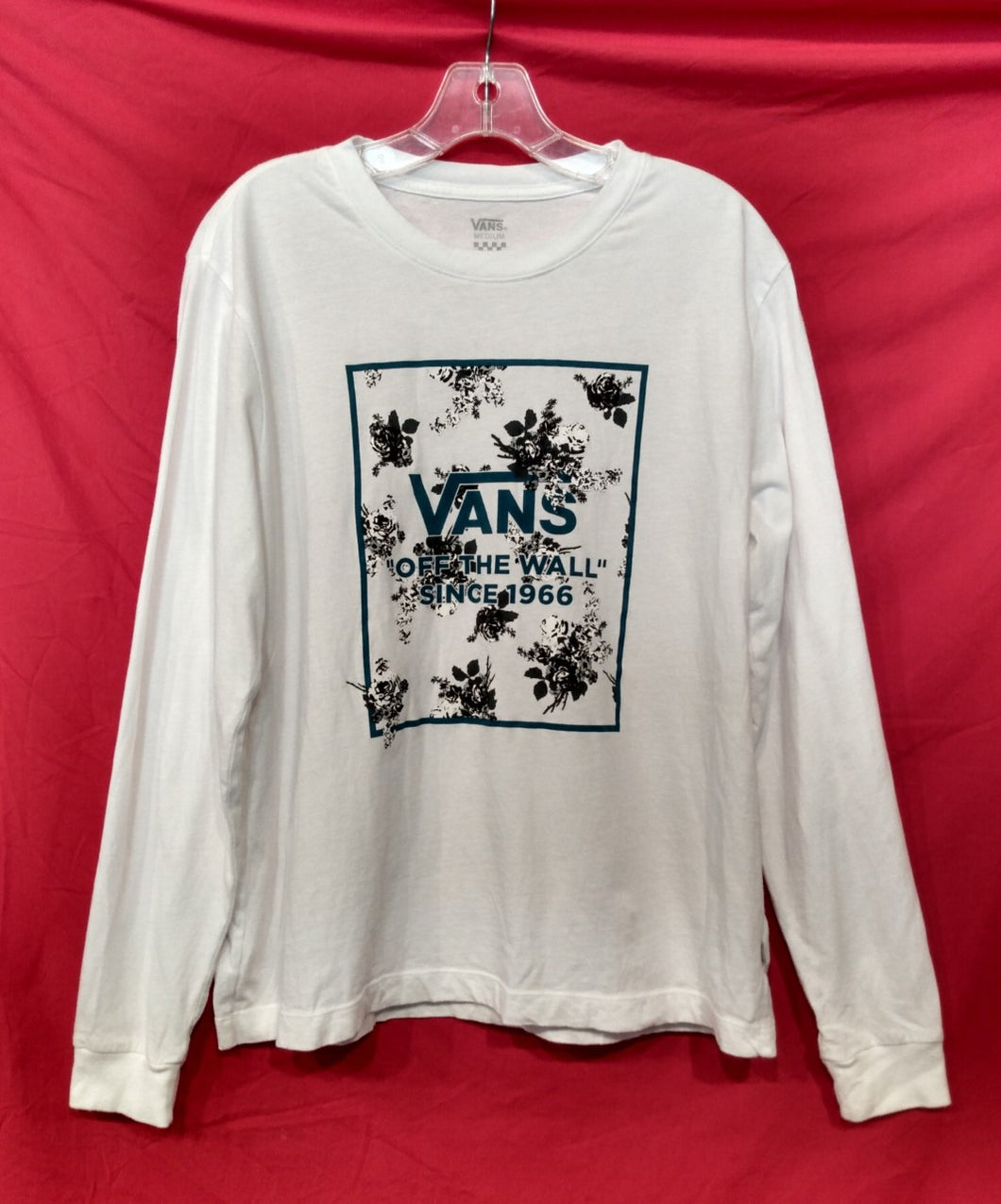 Vans 'Off The Wall' Long Sleeve T-Shirt- Pre-owned