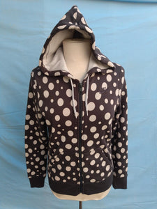 Women's Nike Polka Dot Zipper Hoodie - New