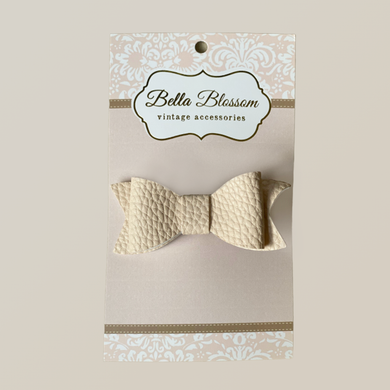 Lexie Sand Baby Bow Clip - Baby Bows headbands Baby Gifts Hair Clips