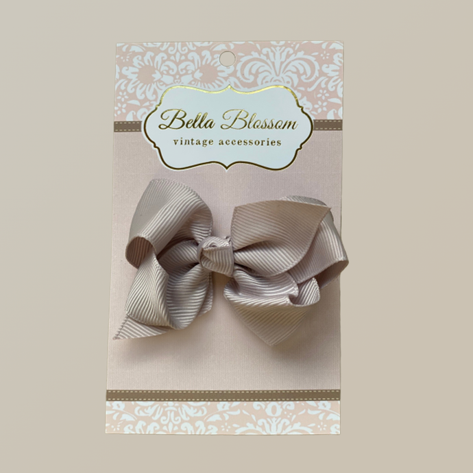 Lola Fawn Baby Bow Clip - Bella Blossom Bows
