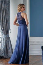 Load image into Gallery viewer, Jade Couture K218055 Halter Chiffon Gown