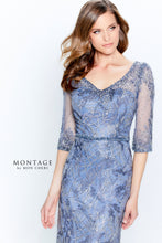Load image into Gallery viewer, Montage 120924 Beautiful Embroidered Lace Gown