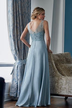 Load image into Gallery viewer, Jade Couture K218057 Chiffon Gown with V-Neckline