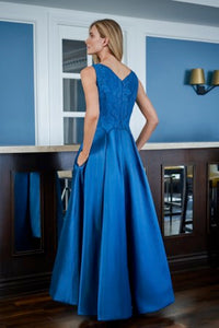 Jade J225012 Stunning High-Low Mikado Gown