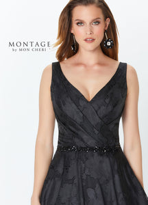Montage 119960 Organza Ball gown with Straps