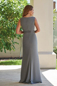 Jade J215009 Stretch Crepe Sleeveless Gown
