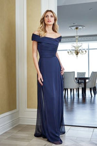 Jade J215052 Chiffon Off the Shoulder Gown