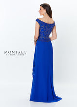 Load image into Gallery viewer, Montage 119944 Gorgeous Off the Shoulder Chiffon Gown