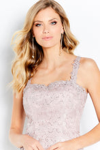Load image into Gallery viewer, Cameron Blake 120602 Sleeveless Beaded Lace  Dress with Jacket