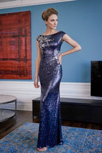 Load image into Gallery viewer, Jade Couture K228016 Sequin Gown with Embroidered Lace