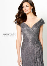 Load image into Gallery viewer, Montage 219975 Off The Shoulder Ruched Gown
