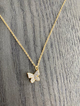 Load image into Gallery viewer, Dainty Butterfly Necklace