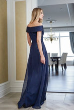 Load image into Gallery viewer, Jade J215052 Chiffon Off the Shoulder Gown
