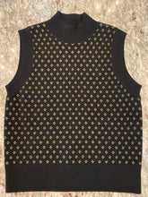 Load image into Gallery viewer, Nicole Miller Diamond Jacquard Sleeveless Top