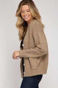 Katie Oversized Cardigan in Oatmeal
