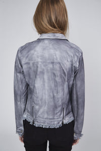 Steel Leather Jacket