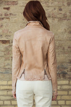Load image into Gallery viewer, Au Lait Patina Leather Jacket