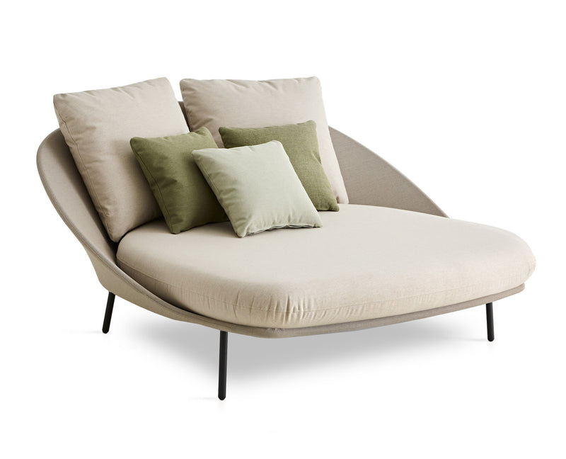 Twins double chaise longue