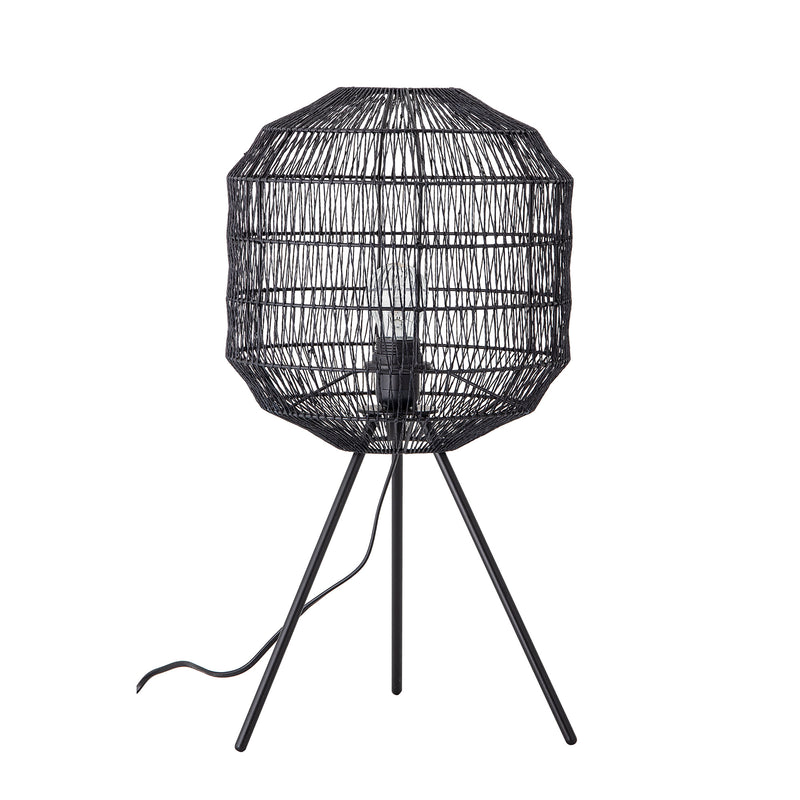 Table lamp, Black, Metal