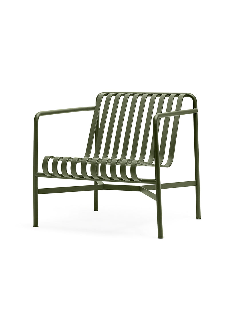 Palissade Lounge Chair Low Olive