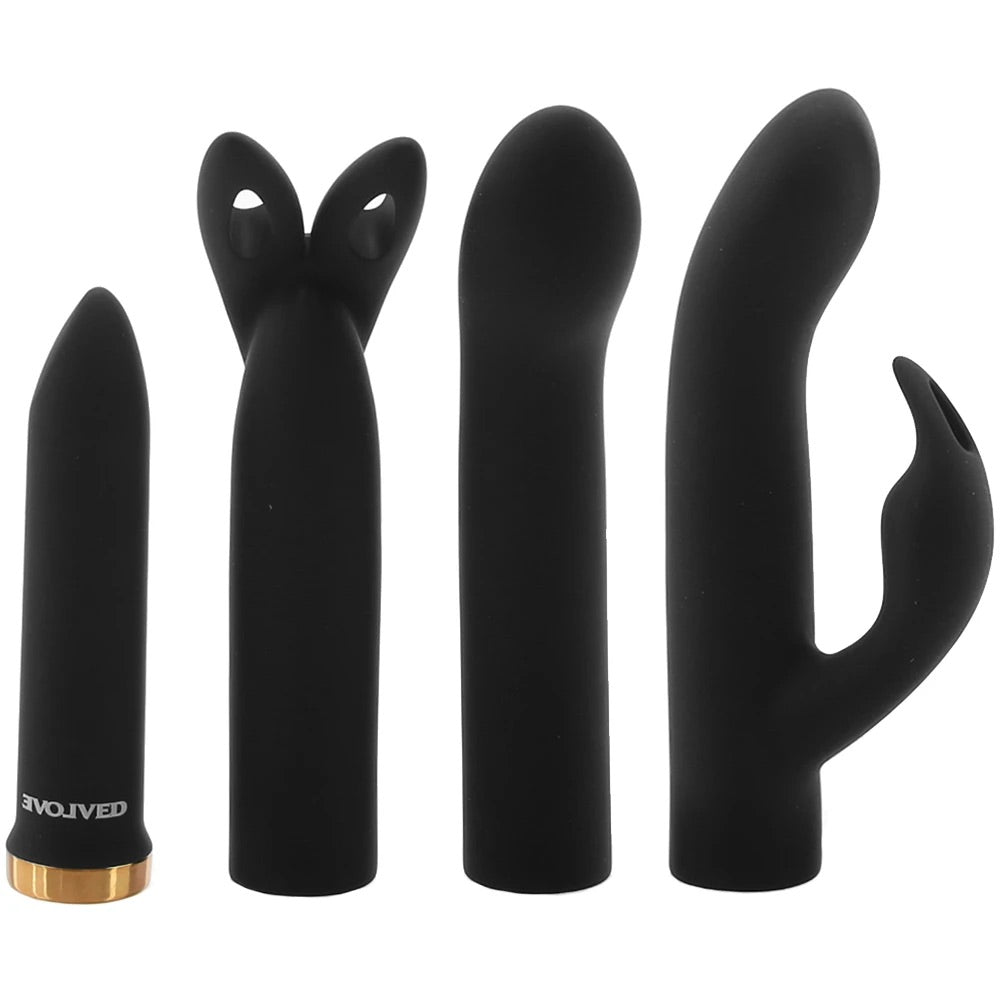 Four Play Vibrator Set