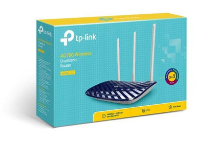 TPLink AC750 Wireless Dual Band Router Archer C20