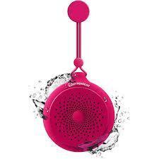 Hypergear Splash Water Resistant Wireless Speaker Red - Computer Center
