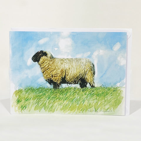 Greetings Card - Admiring the View