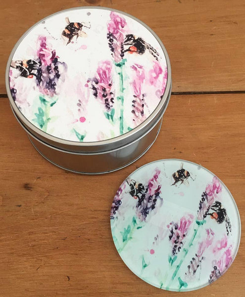 Coaster Gift Set - Beeing Around Lavender
