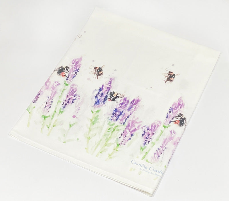 Tea Towel - Beeing Around Lavender