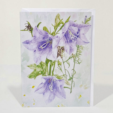 Greetings Card - Bell Flower