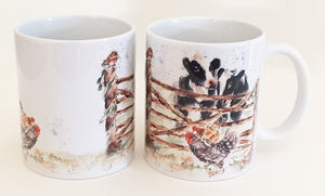 Earthenware Mug - Cow 'n' Gate