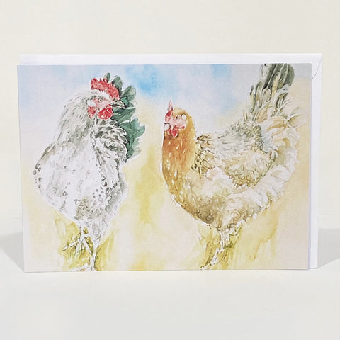Greetings Card - Forever Hens