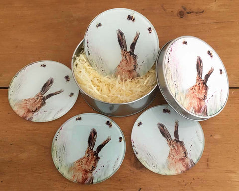 Coaster Gift Set - Hare 'n' Seek