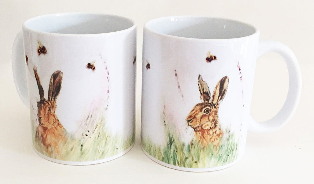 Earthenware Mug - Hare 'n' Seek