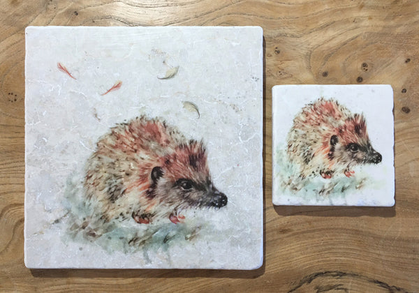 Small Trivet - Little Hedgehog