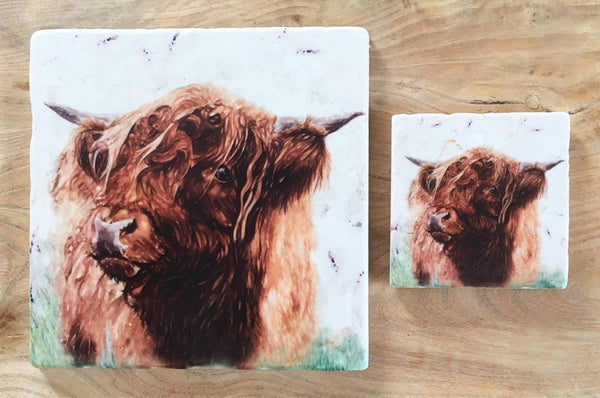Small Trivet - Highland Hamish