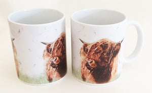 Earthenware Mug - Highland Hamish