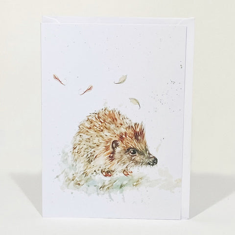 Greetings Card - Little Hedgehog
