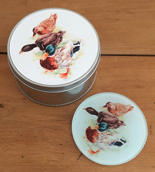 Coaster Gift Set - Mallards