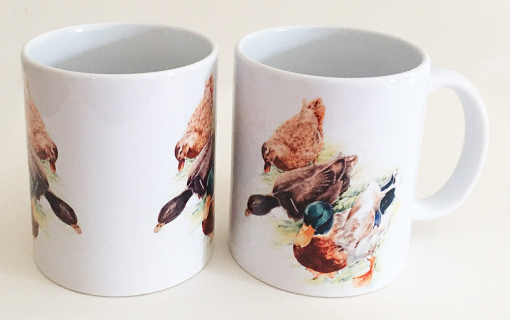 Earthenware Mug - Mallards