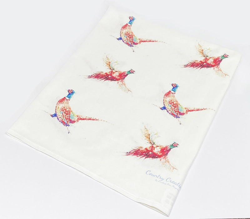 Tea Towel - Pheasants